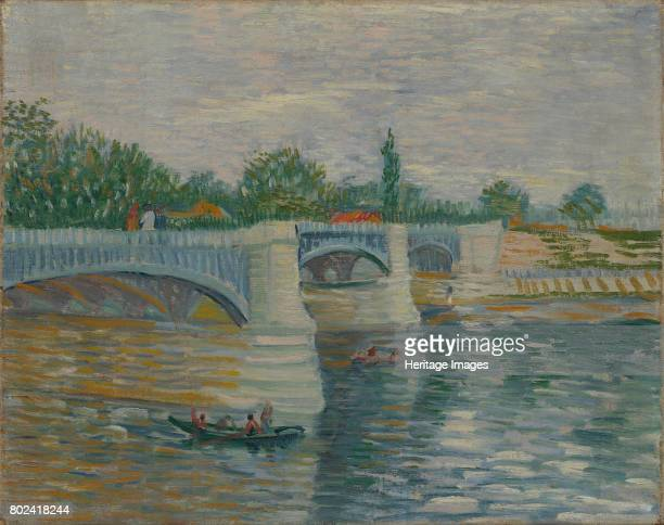 The Bridge at Courbevoie 1887 Found in the collection of Van Gogh Museum Amsterdam