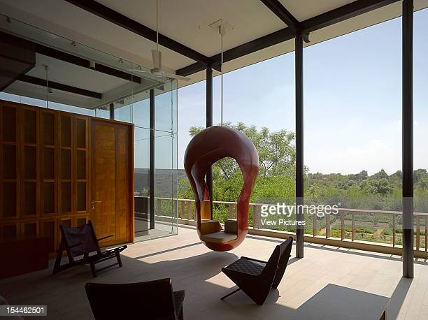 The Bridge House Baroda India Anekit Bagwat Landscape IndiaIving Room Area With Hanging Double Swing Seat Anekit Bagwat Landscape India India...