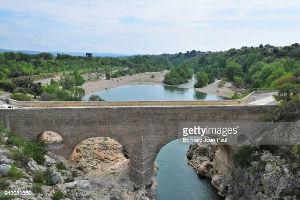 The bridge of the devil in the valley of the Hérault