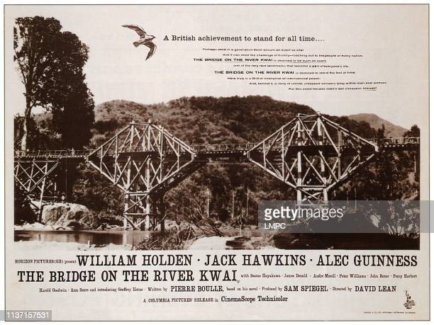 The Bridge On The River Kwai, poster, 1957.