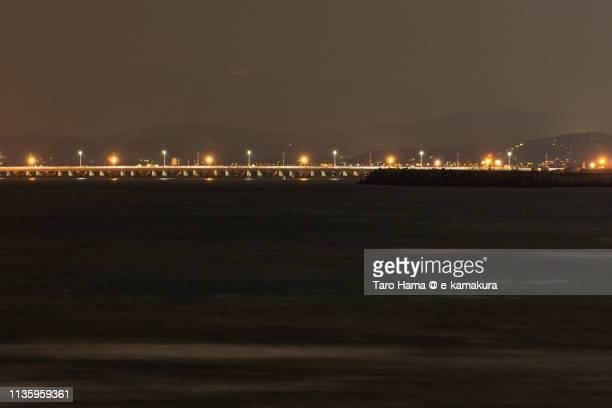 The bridge over Pacific Ocean in Japan