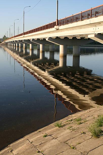 The bridge through the river Ozerna