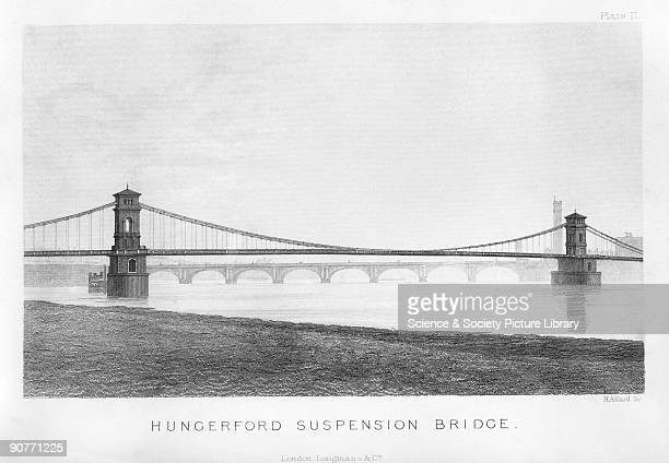 The bridge was built by Isambard Kingdom Brunel It was originally built as a pedestrian bridge over the River Thames to Hungerford market to increase...