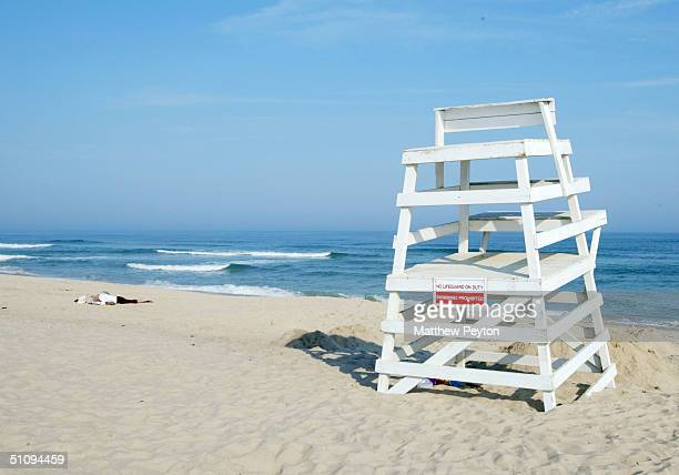 The Bridgehampton Main Beach Is Shown May 27, 2002 In Bridgehampton, Ny. The Hamptons, Located On The Tip Of Long Island, Is A Popular Area For...