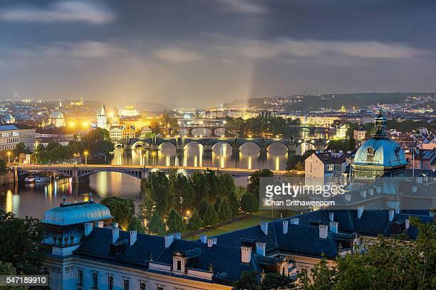 The Bridges of Prague , Czech Republic