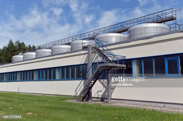 The Briesen water plaent of the FWA Frankfurter Wasser- und Abwassergesellschaft GmbH in Briesen, Germany, 21 July 2016. Photo: Maurizio...