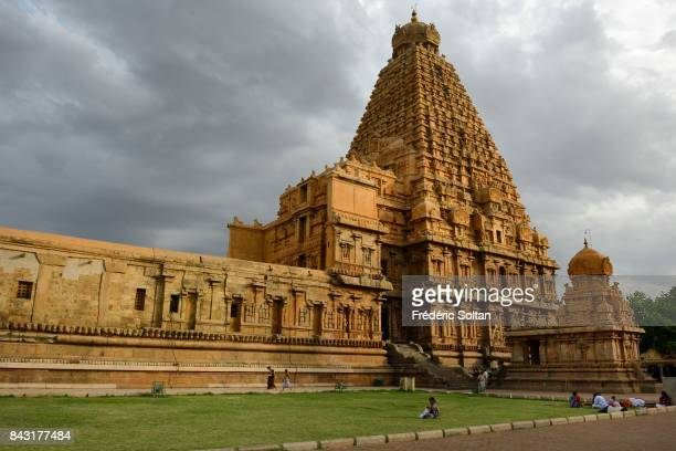The Brihadishwara Temple in Thanjavur. The Brihadishwara Temple was built during the 11th century AD by king Rajaraja Chola I of the Chola Empire....