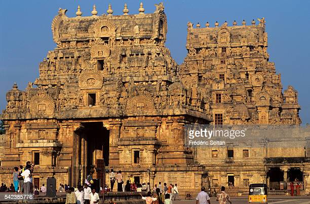 The Brihadishwara Temple was built during the 11th century AD by king Rajaraja Chola I of the Chola Empire The temple is classified as a World...