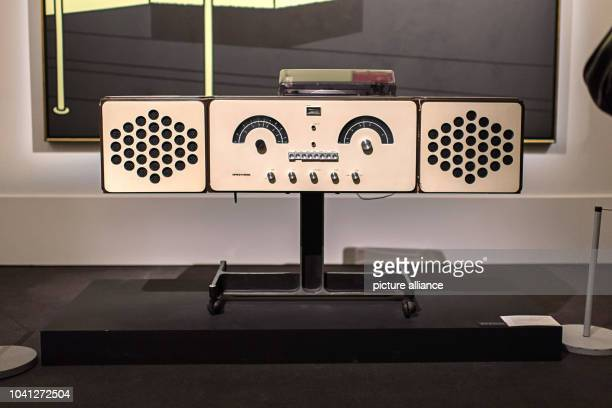 The Brionvega RR126 radio by Achille and Pier Giacomo Castiglioni in the Sotheby's gallery in London 10 November 2016 The house is actioning items...