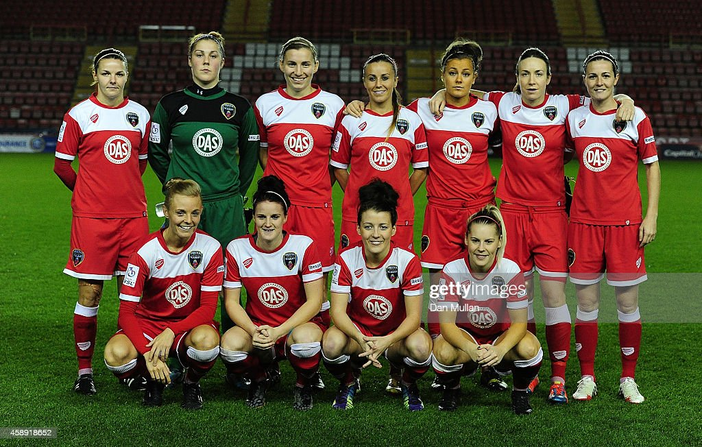 Bristol Academy Women v Barcelona Ladies - UEFA Women's Champions League Round of 16 : News Photo