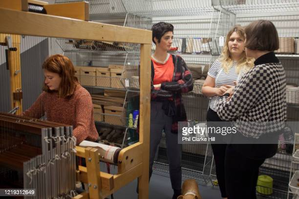 The Bristol Weavimg Mill was the first new cloth mill to open in the city in 90 years, on 6th November 2015 in Bristol, United Kingdom. The all...
