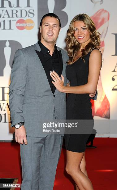 The Brit Awards Arrivals O2 Arena London Britain 15 Feb 2011 Paddy Mcguinness And Christine Martin