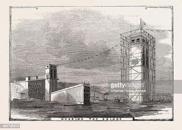 Nearing The Bridge 1849