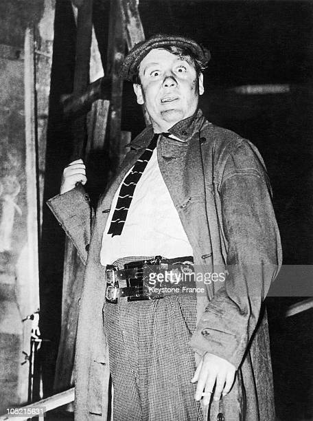 The British Actor Charles Laughton In The Film Saint Martin'S Lane On January 20 1938 It Was The First Time He Was Appearing In A Film Without Makeup