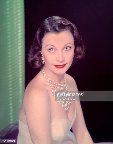 The British actress Vivien LEIGH around 1940