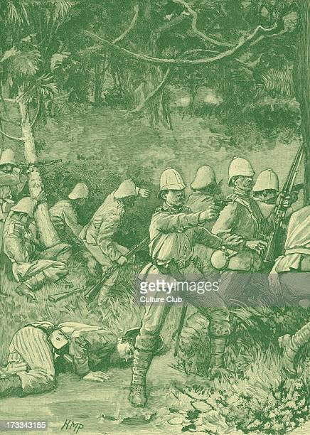 The British Army enterting Coomassie' 1873 During Third AngloAshanti War of 1873 74 following purchase of Dutch Gold Cost by British in 1871 Ashanti...