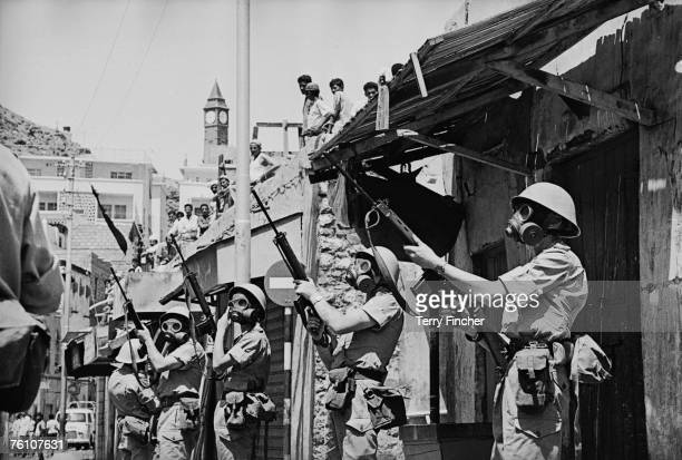 The British army in Aden 8th March 1967