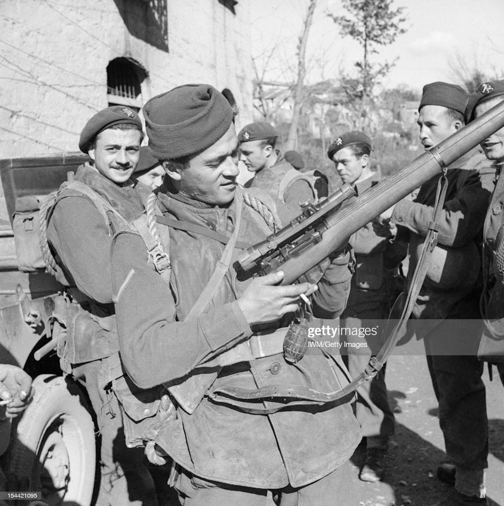 The British Army In Italy 1944 : ニュース写真