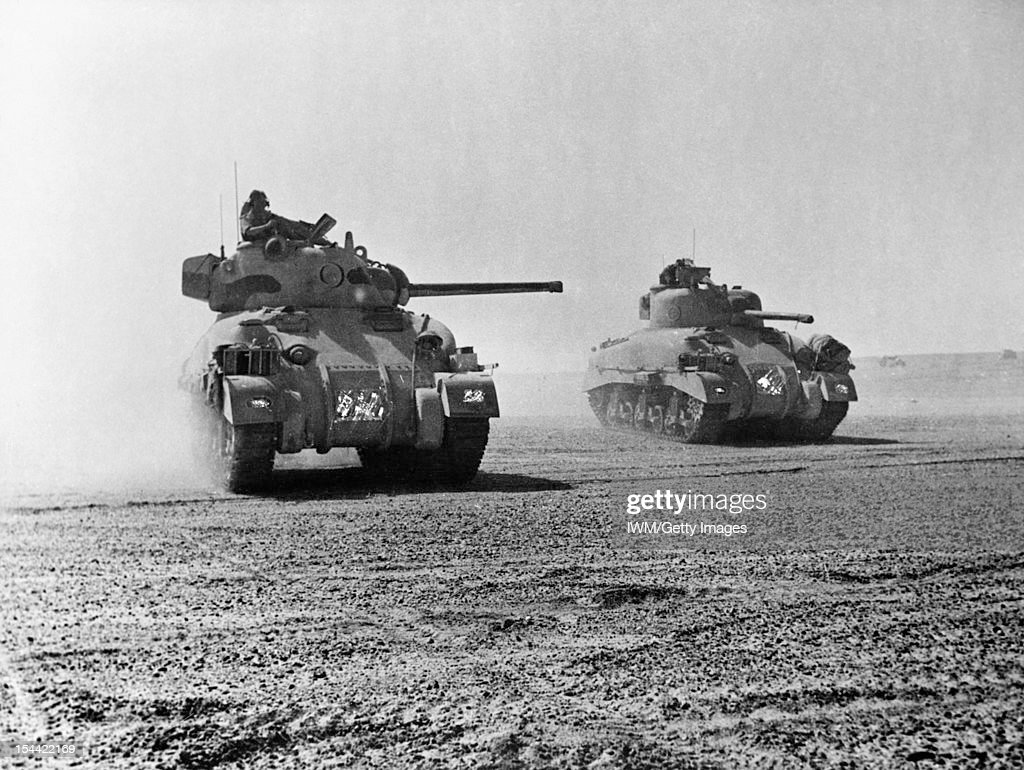 The British Army In North Africa 1942 : News Photo