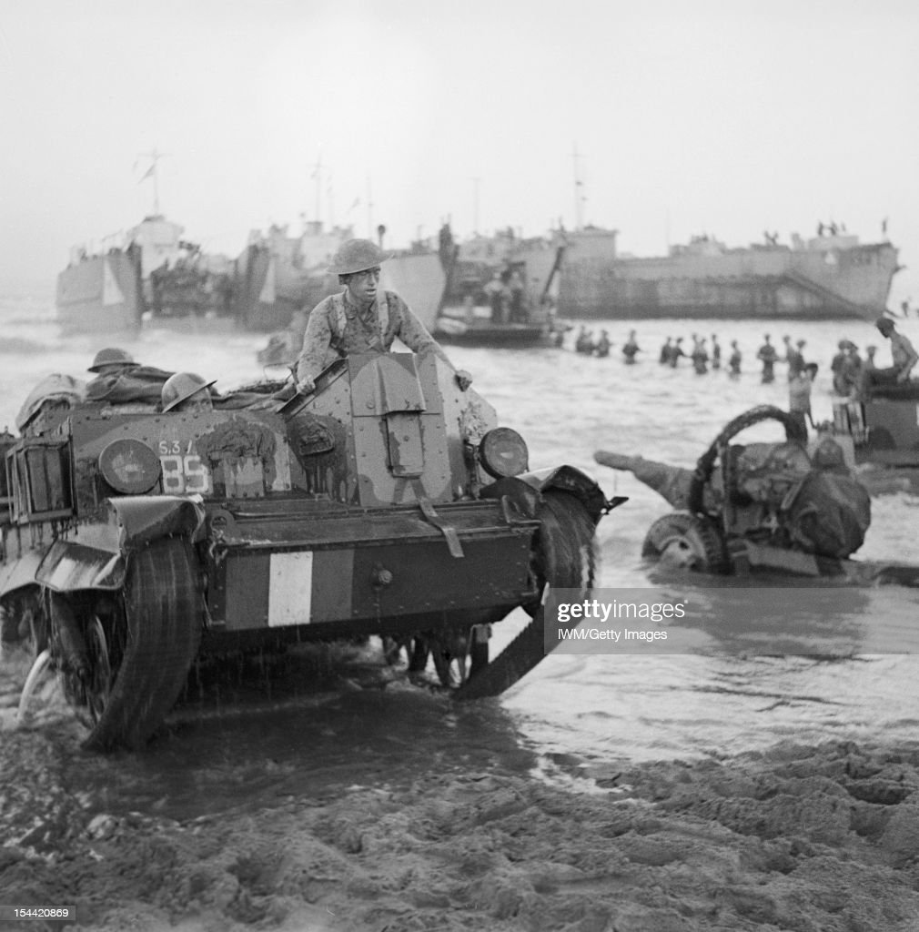 The British Army In Sicily, 1943 : News Photo