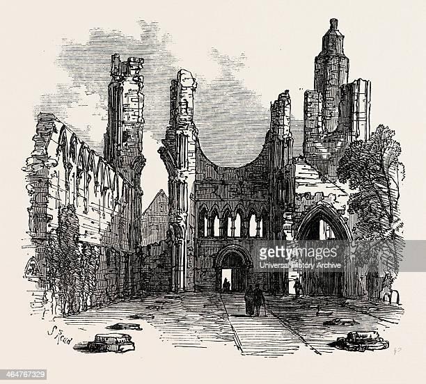 Arbroath Abbey UK 1867