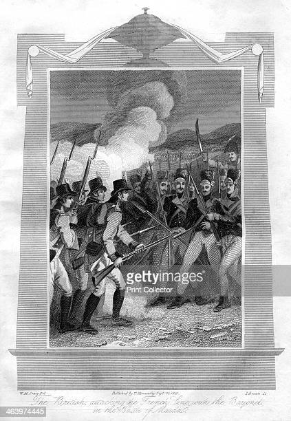 The British attacking the French line with bayonets at the Battle of Maida 1816 The Battle of Maida was a battle outside the town of San Pietro di...