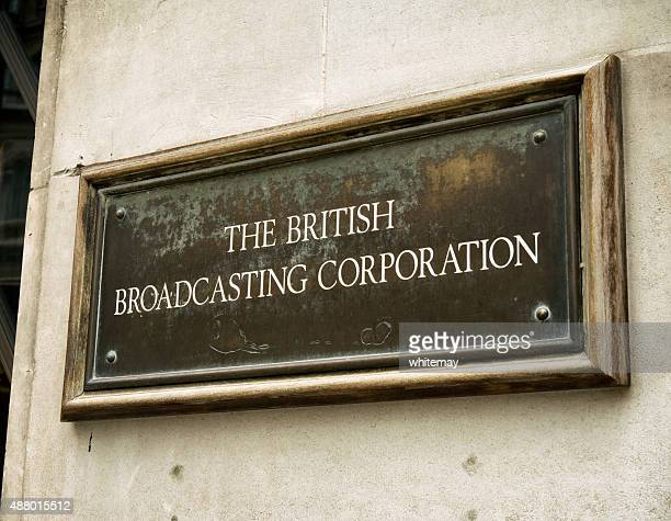 The British Broadcasting Corporation - sign