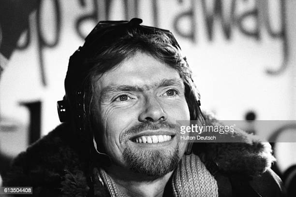 The British businessman and entrepreneur Richard Branson, 1984.