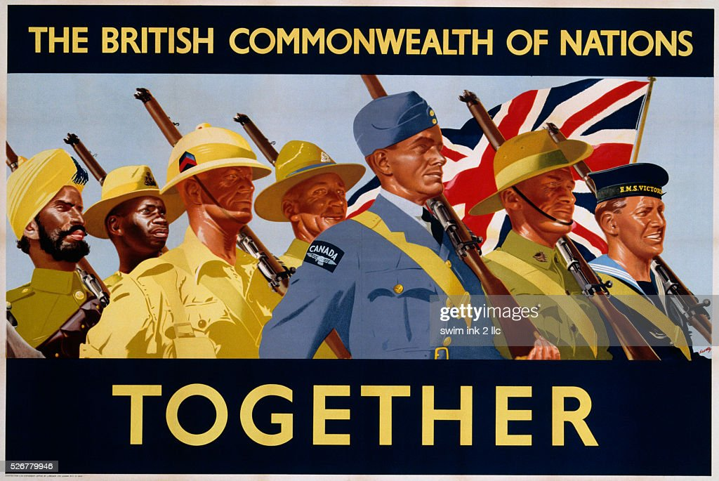 The British Commonwealth of Nations - Together Poster : News Photo