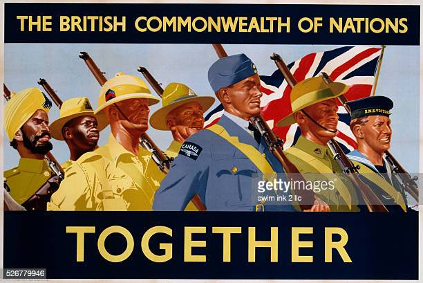 The British Commonwealth of Nations Together Poster