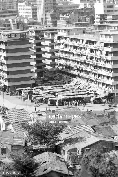 The British crown colony Hongkong does not have enough space to deal with the inflow of people Refugees either live in multistorey buildings or have...
