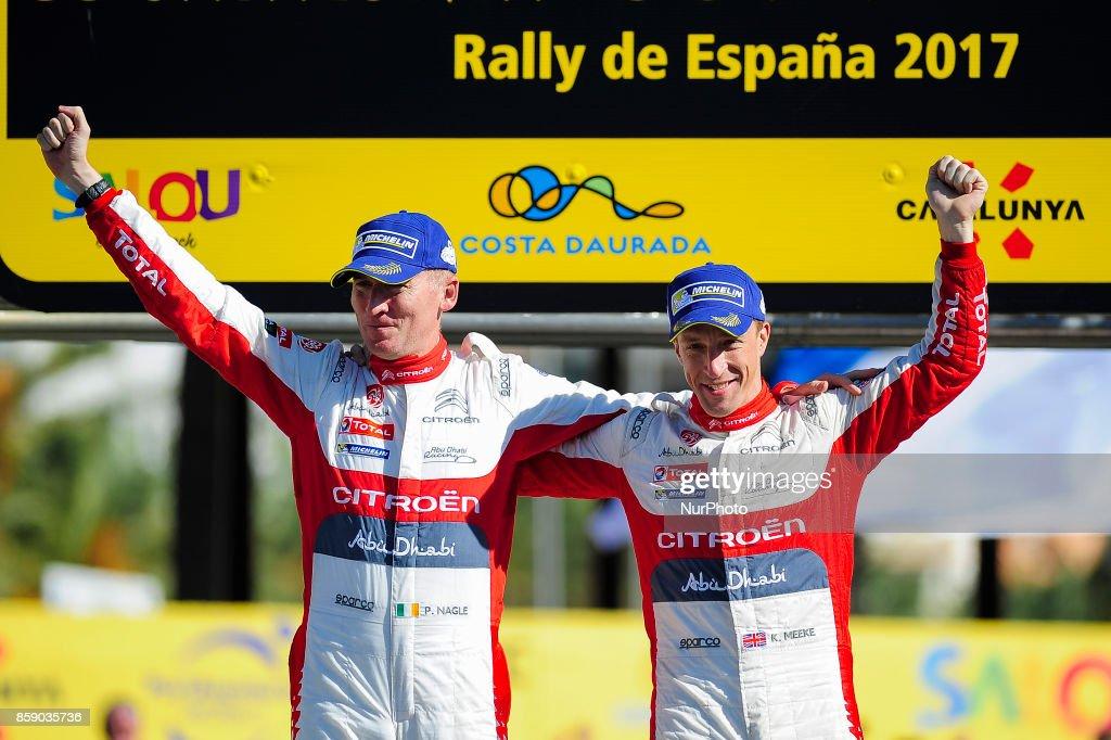 Rally de Catalunya - Podium