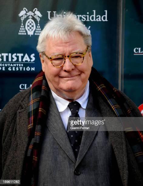 The British film director Alan Parker 06th November 2012 Alcala de Henares Madrid Spain