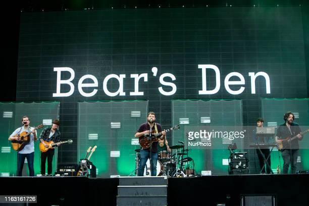The british folk band Bear's Den performing live at Lowlands Festival 2019 on 18 August 2019 in Biddinghuizen Netherlands