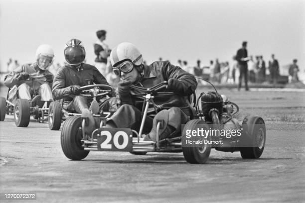 The British Go Kart Championships, UK, 3rd July 1966.