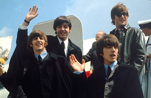 The Beatles Taking Off To The United States