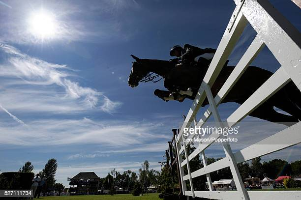 The British Jumping Derby Meeting Hickstead UK The DFS Derby Bank competitiion