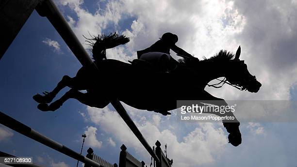 The British Jumping Derby Meeting Hickstead UK The Falcon Equine Feeds Derby Trophy