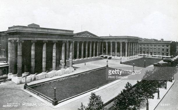 The British Museum Great Russell Street London 20th century The British Museum was built in 18231852 in a Classical style to designs by Sir Robert...
