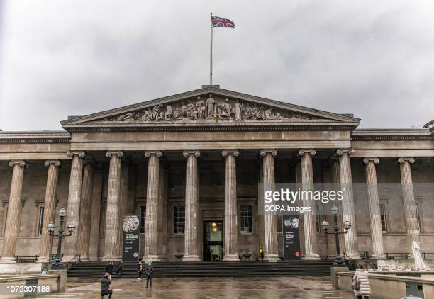 The British Museum in London, England, United Kingdom. The museum is a public institution with free entrance, dedicated to human history, art and...