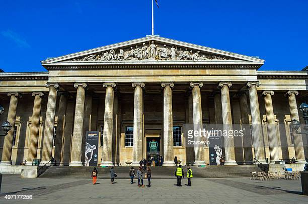 the british museum in london, uk - british museum stock pictures, royalty-free photos & images