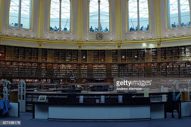 The British Museum library Reading Room in London