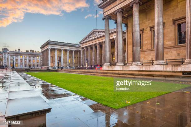 the british museum london england uk - british museum stock pictures, royalty-free photos & images