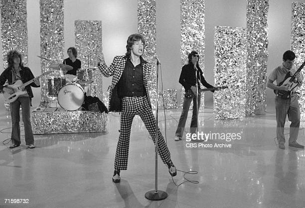 The British Rock band the Rolling Stones in a rehearsal before an appearance on the CBS variety program 'The Ed Sullivan Show,' New York, November...