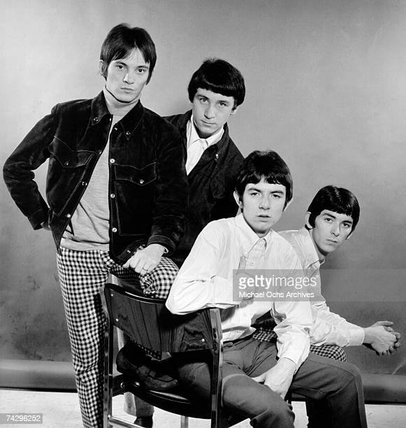 """The British rock group """"The Small Faces"""" poses for a portrait in 1967. Steve Marriott, Kenney Jones, Ronnie Lane, Ian McLagan."""