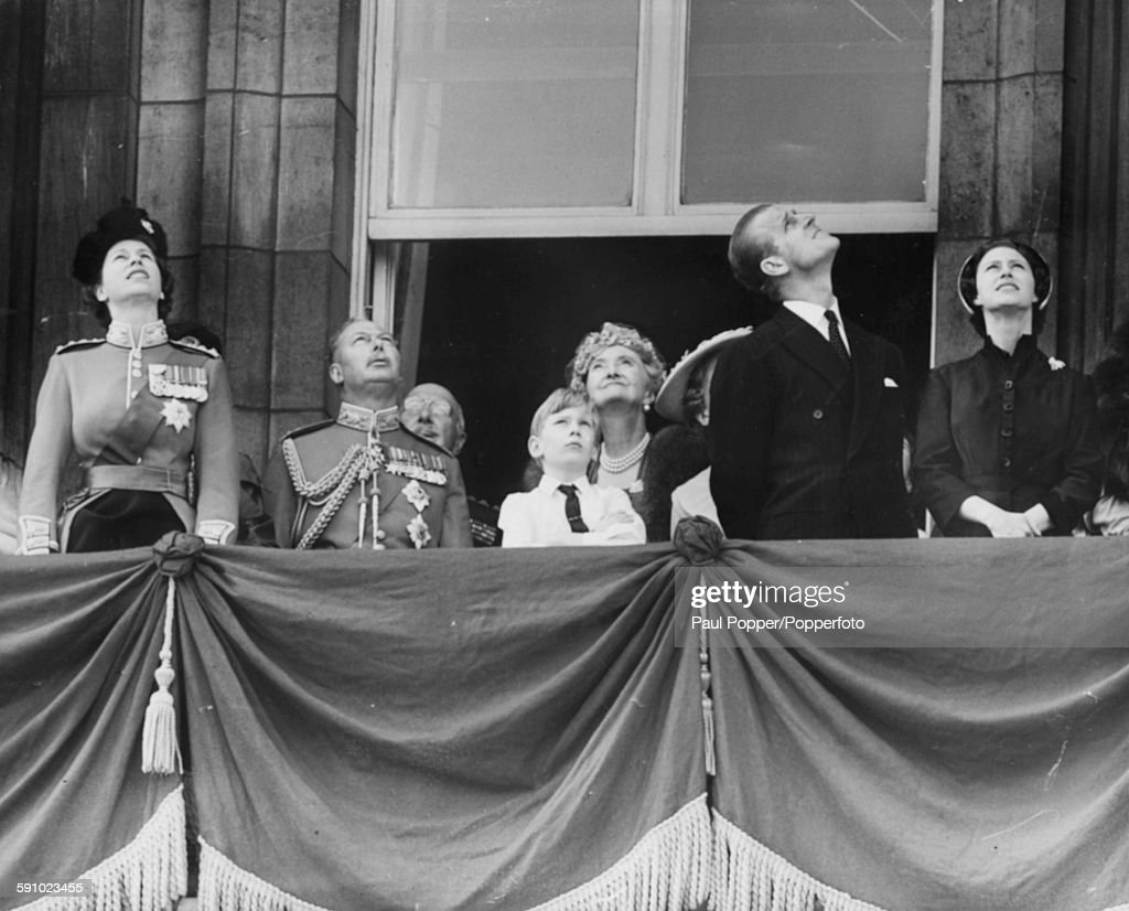 Queen Elizabeth II And Royal Family : News Photo