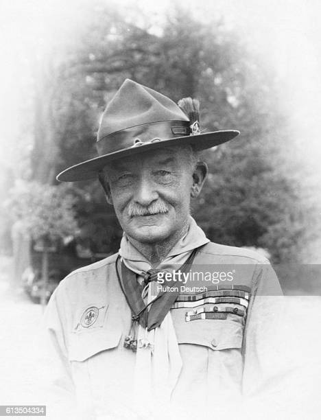 The British soldier who founded the Boy Scouts in 1908 Robert BadenPowell ca 1920