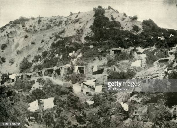 The British Troops on the Gallipoli Peninsula' Scene from the First World War 19141919 'The evacuation of the peninsula was one of the greatest feats...