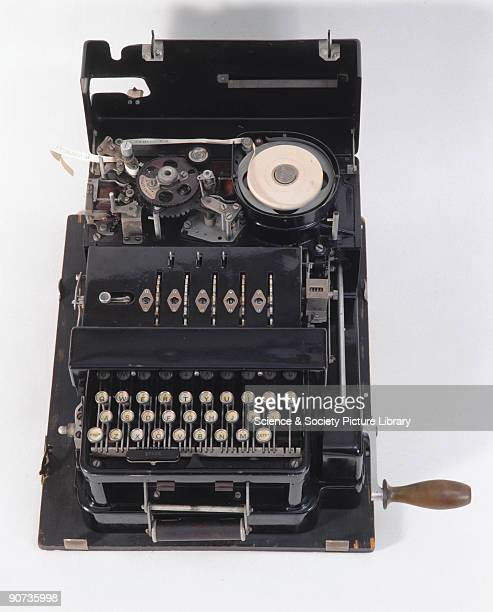 The British Typex cypher machine was based on the German Enigma machine In 1928 the British government bought two commercial Enigmas and commissioned...
