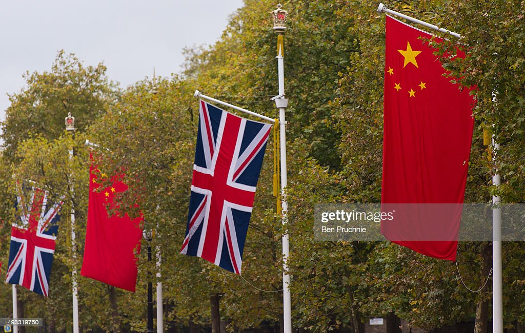 London Prepares For Chinese State Visit : News Photo